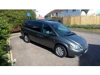 CHRYSLER GRAND VOYAGER, LIMITED EDITION, ONBOARD DVD, 65K MILES, NEW MOT, FSH