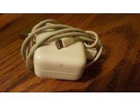 Genuine apple ipad's charger...