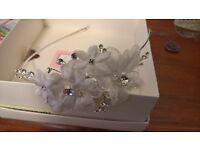 Side tiara / fascinator perfect for wedding