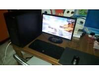 Custom gaming computer + Extras