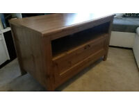 DESK / TV STAND / BOOKCASE / WARDROBE UNIT OAK MADE NATURAL COLOR
