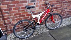 Claude Butler Full suspension mountain bike - £100 ono