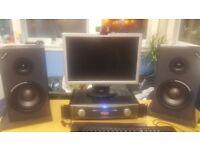 Alesis Monitor 1 MK2 Passive Monitors (x2) + Free Alesis RA150 Amplifier