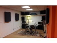 Rehearsal Space for Bands and Musicians
