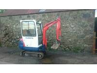 Kubota Kx41-2 mini digger. Runs well. categories tractor, trailer