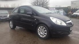 VAUXHALL CORSA 1.2 CLUB 3 DOOR 2007 / FSH / 12 MONTH MOT / 2 KEEPERS / EXCELLENT CONDITION / 2 KEYS
