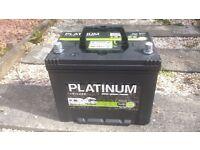 Platinum leisure battery