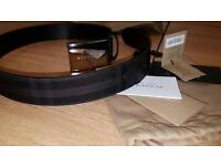 Burberry Belt 32/80 100% Authentic