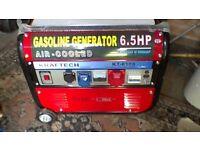 GENERATOR 6.5 HP 240V Single Phase 3 Phase 12 v DC