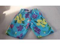 Boys swim shorts 4-5 years