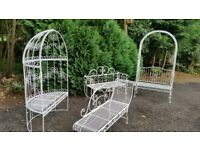 4 piece conservatory/ garden furniture. Excellent condition. Lovely set of furniture. £325.00 OVBO