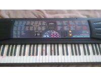 Casio keyboard! Cheap keyboard!