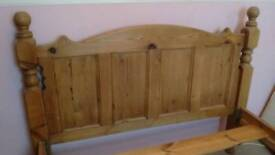 Double bed (pine)