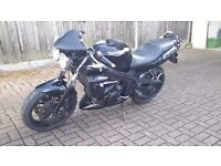 Triumph speed 4. Black, vgc.new battery,datatool alarm