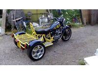 Classic 1983 Honda CX500 Custom Trike