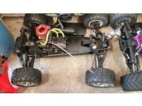 Two rc cars