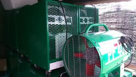 EBAC DEHUMIDIFIER/BD70 PLUS H/SPEED FAN PF400 BUILDING DRYING PACKAGE POWER-FULL QUITE DRYING
