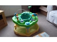 Evenflo ExerSaucer - Jungle bounce and learn