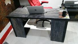 Oak bespoke Desk