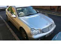 Mercedes C180 2003 LONG MOT Manual Silver
