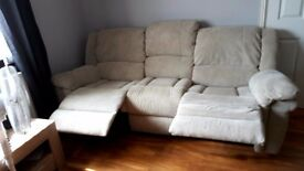 Three and two seater settees
