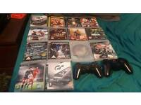 Ps3 new shape 2 controllers +14 games