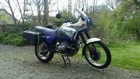 BMW R100 GSPD 1993 SELL/PART EXCHANGE. / SWAP HARLEY 1340 TRIUMPH T140