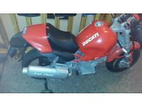 child 3-8yrs electric ducati motorbike