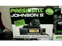 President Johnson 2 cb radio