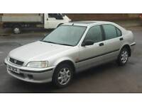 ONLY 31000 MILES HONDA CIVIC 1.4 ONE LADY OWNER FROM NEW