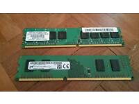 New 3gb ram for computer pc desktop parts memory stick