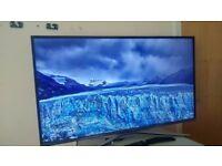 SAMSUNG UE40KU6400 40'' 4K UHD ULTRA HD HDR SMART TV WITH FREESAT