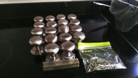 stainless steel door ball set * 9