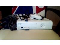 Xbox360 60gb leads 47 games controller