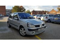 2002 Renault Clio 1.2 VERY CLEAN 5 DOOR HATCHBACK Ideal First Car Corsa Saxo Astra Peuguot 206 106