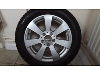 mercedes ronal alloy wheel