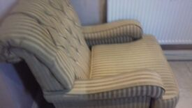 Lovely armchair in excellent condition .
