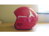 Atomic RS Race Concept Ski Helmet in Red: Size: S (54-55cm).