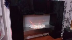 Electric Flame Effect Fire and Surround