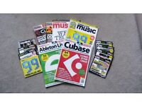 Music Magazines & Cover Discs (incl. Ableton & Cubase) - Free!!!