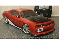 LRP BLAST 1/10 SCALE 4WD RC ELECTRIC TOURING CAR,FAST,BRUSHED,RTR,SPRINT,HPI