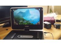 Portable dvd player works well with charger