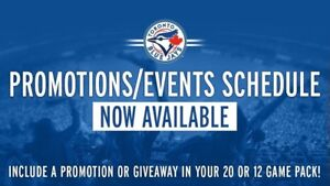 Looking for Blue Jays season ticket holder for giveaways