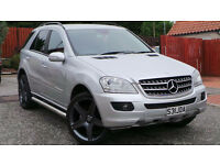2006 06 MERCEDES ML 320 CDI DIESEL 4x4 SILVER MOT 07/17 94K(PART EX WELCOME)