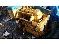 4 cylinder Lister engine 50 hp
