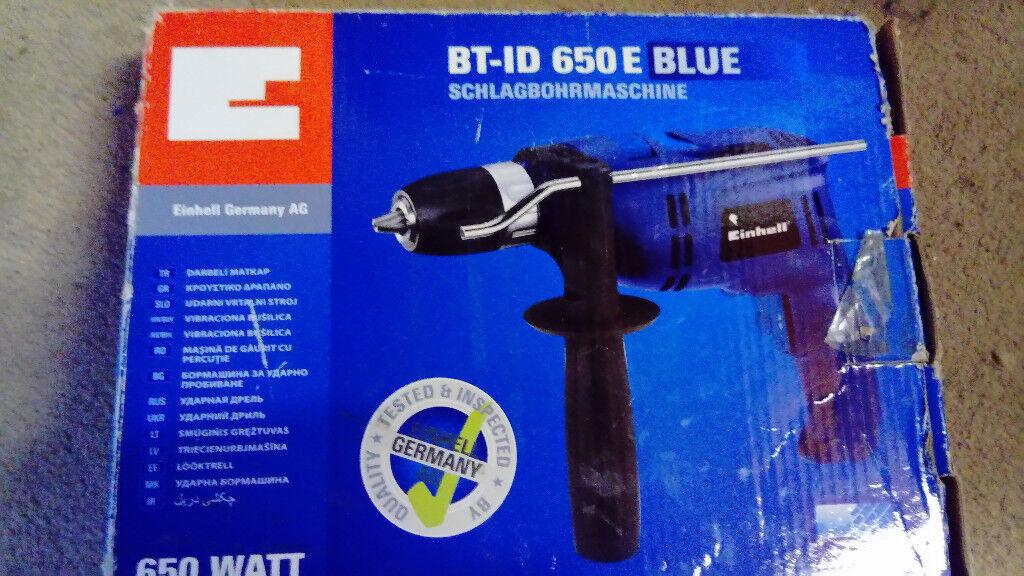 Drill BT-ID 650 E Blue