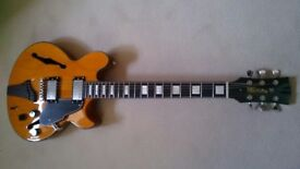 New price. Fret King Elise. John Ethridge signature chambered body guitar. In imaculate condition.