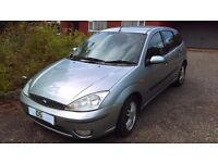 2005 Ford Focus Zetec 16V, 1796CC Petrol, 5DR, Manual,Silver, with 12 months MOT