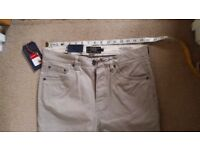 Mens hammond & co trousers -brand new