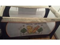 🔴Hauck Disney baby Winnie the pooh travel cot 🔴